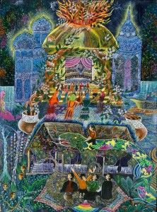 The Ayahuasca Visions of Pablo Amaringo by Howard G Charing & Peter Cloudsley
